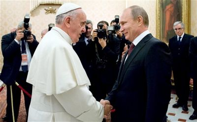 Putin, Pope Francis to discuss the Ukraine crisis