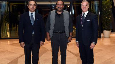 ANOC President arrives in Baku