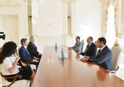 President Ilham Aliyev received Captains Regent of San Marino