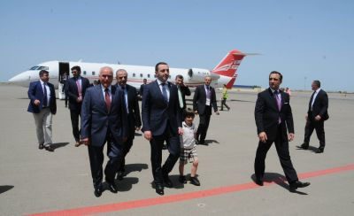 Georgian PM arrives in Azerbaijan to attend the opening ceremony of  European Games