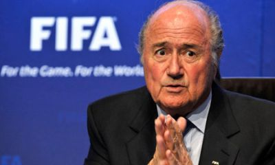 The EP calls on  Blatter to leave FIFA's office