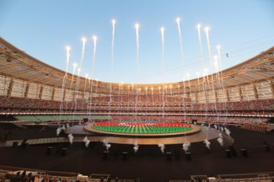 The first European Games opening ceremony in photos