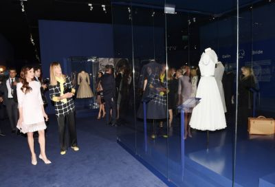 "Mehriban Aliyeva attends opening of ""Grace Kelly, the Princess and Style Icon"" exhibition  PHOTO"