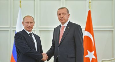 Russian and Turkish President meet in Baku