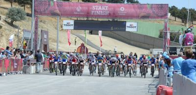 Mountain bike cross-country race kicks off
