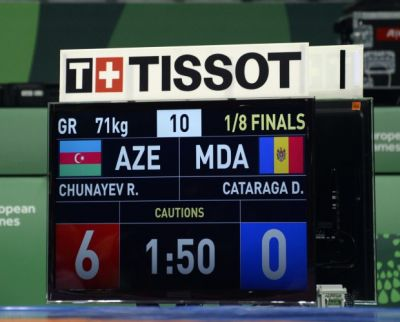 Azerbaijan`s wrestler  Chunayev into semifinal