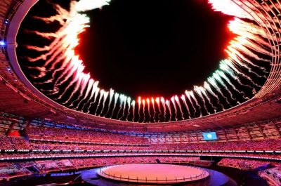 The Washington Post featured European Games opening ceremony