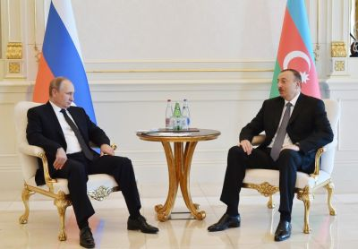President Ilham Aliyev met with his Russian counterpart