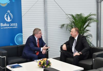 President Ilham Aliyev met with IOC President