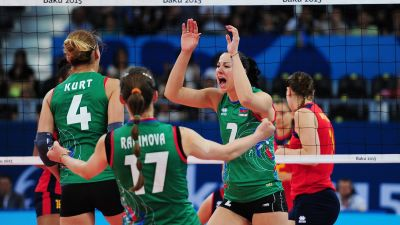 Azerbaijan women's volleyball team starts with victory