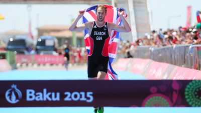 Gordon Benson wins first gold for Great Britain