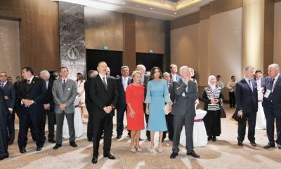 A reception hosted for members of the Olympic family
