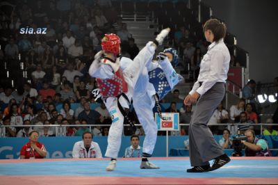 Azerbaijani taekwondo fighters starts competitions with victory