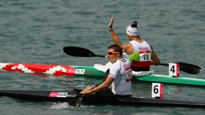 Hungary strike double gold in Canoe Sprint