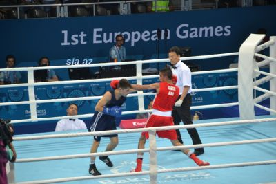 Baku 2015: The boxing competitions started