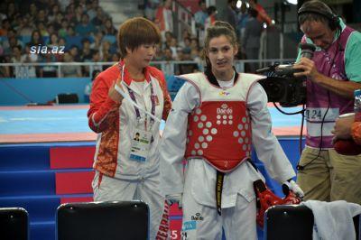 Patimat Abakarova in the semifinal