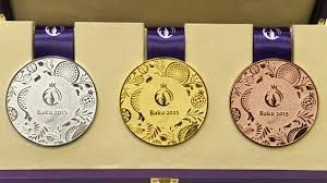 Baku 2015 medal table