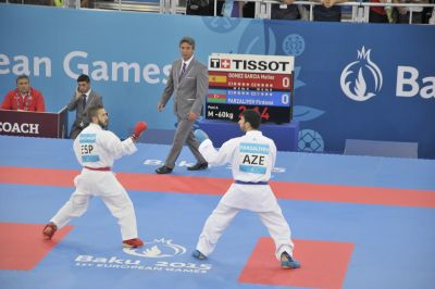 Boosted by the success of athletes from the host nation karate has prospered in Baku, the Reuter writes