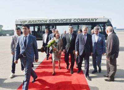 Hungarian speaker arrived in Azerbaijan for an official visit