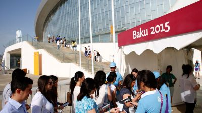Cometitions to be held on 17 June at Baku 2015