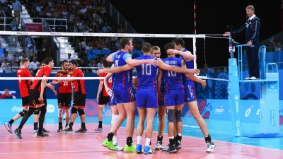 Volleyball competitions are continuing at Baku 2015