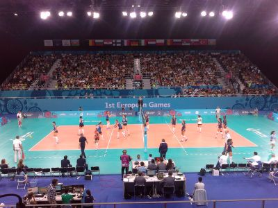 Azerbaijani women's volleyball team  face with  Italian rival UPDATING