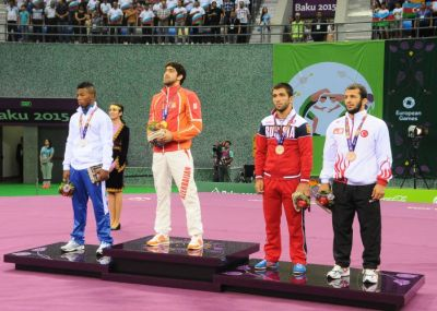 Togrul Asgarov wins gold PHOTO