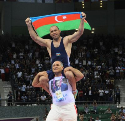Gazyumov added the 10th gold to Azerbaijan`s medal count PHOTO