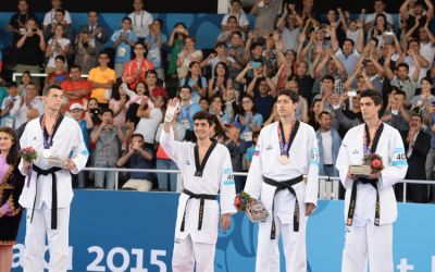 Azerbaijan's Taghizade claims gold PHOTO