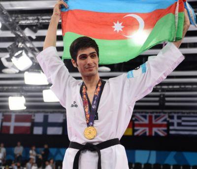Azerbaijan's taekwondo fighter won gold  PHOTO