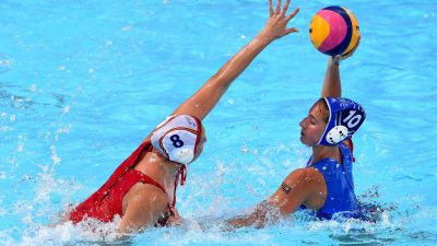 Spain and Russia to fight for women's Water Polo gold