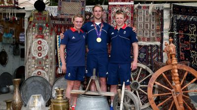 Great Britain athletes visit interesting sights of Baku  PHOTO