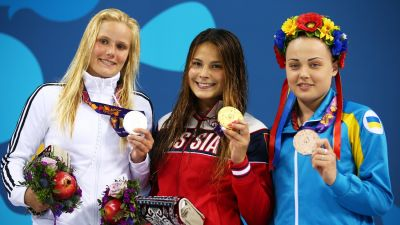 Polykova won gold
