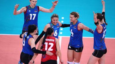 Azerbaijan battle through to Vollyeball quarter-finals