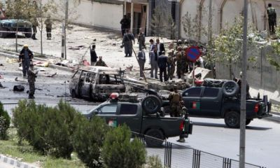 Afghan parliament attacked
