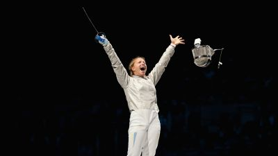 Kharlan and Branza tipped to dominate women's Fencing