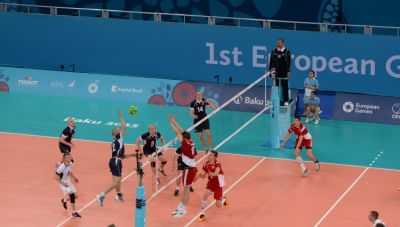 Germany eliminate Belgium from men's Volleyball