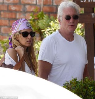 Richard Gere and his Spanish girlfriend