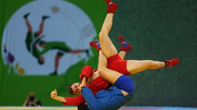 Russia and Belarus dominate Sambo medals