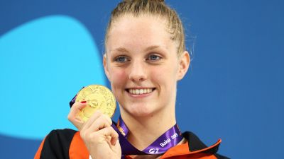 Steenbergen steams towards Rio relay spot