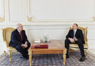 President Ilham Aliyev received Ismail Serageldin