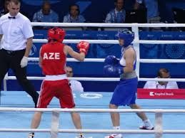Azerbaijan`s woman boxer took bronze