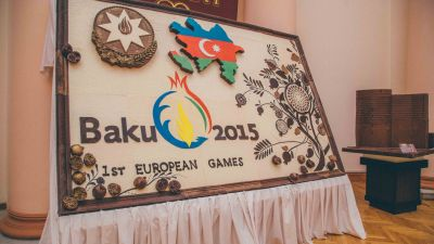 Chocolate exhibition at Baku's Museum Center PHOTO
