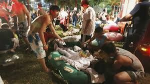 500 injured in explosion at Taiwan water park
