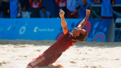Russia won Beach Soccer gold