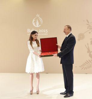 "Azerbaijan's President presented ""Heydar Aliyev"" order to Mehriban Aliyeva PHOTO"