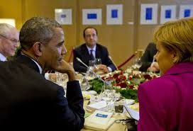 Obama and European leaders discuss Greek crisis