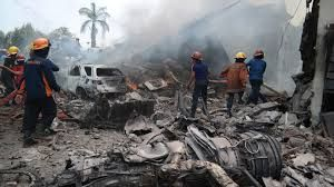 110 killed in Indonesian military plane crash
