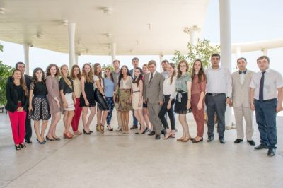 Leyla Aliyeva met with Russian students  PHOTO