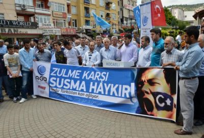 Anti-China protests continue across Turkey for 2nd day